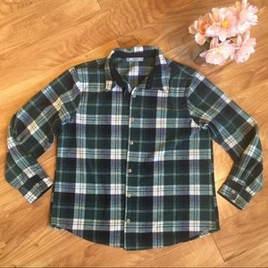 Riders by Lee Large Flannel Plaid Shirt